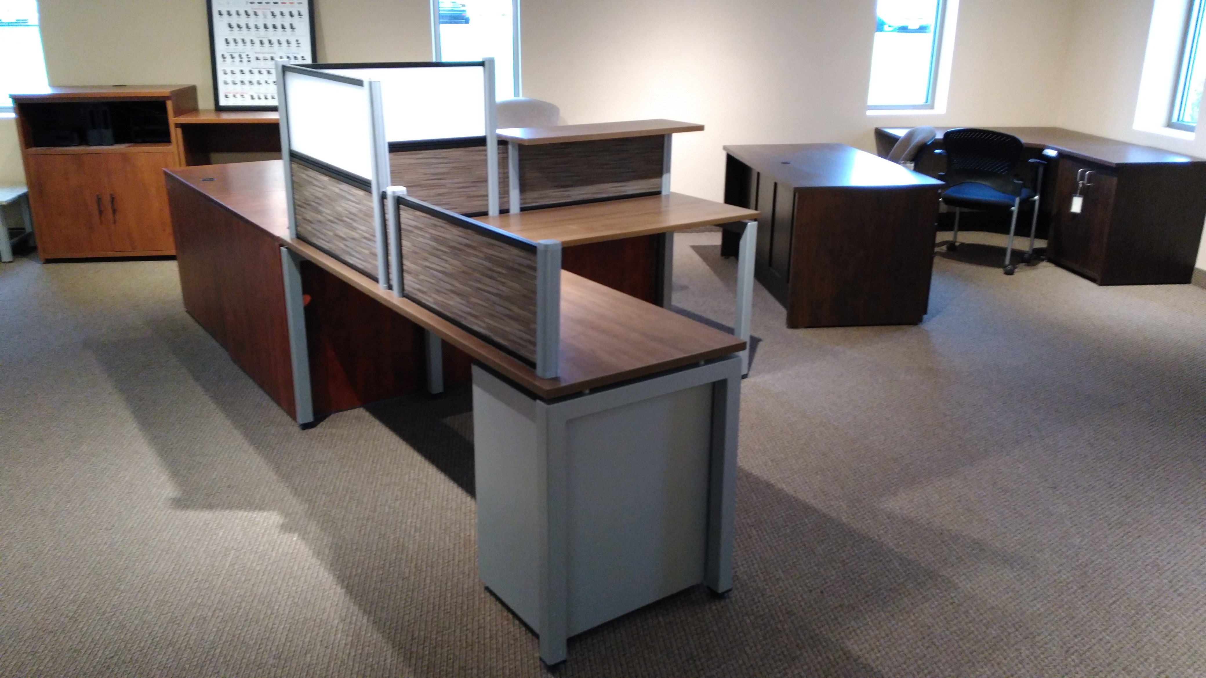 Clearance section desq we create space minnesota furniture for home and office - Clearance home office furniture ...